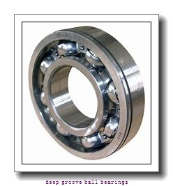 3.175 mm x 9.525 mm x 3.967 mm  skf D/W R2-2RZ Deep groove ball bearings