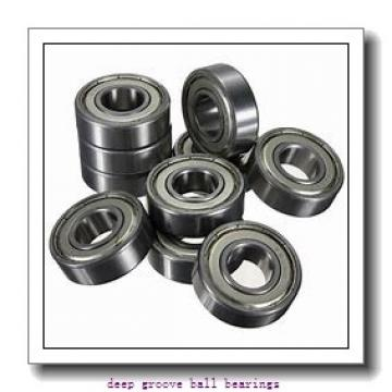6 mm x 17 mm x 6 mm  skf W 606 R Deep groove ball bearings