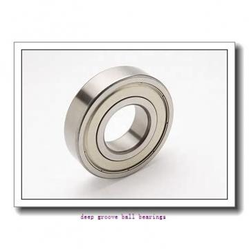 45 mm x 85 mm x 19 mm  skf 6209 Deep groove ball bearings