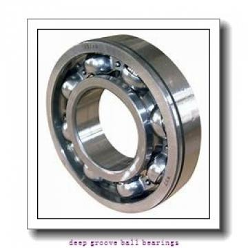 6 mm x 22 mm x 7 mm  skf W 636-2RS1 Deep groove ball bearings