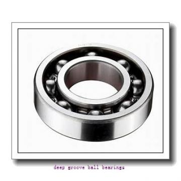 4 mm x 9 mm x 4 mm  skf W 638/4 R-2RS1 Deep groove ball bearings