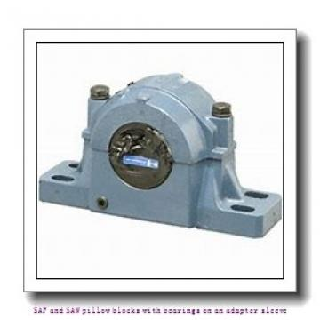 skf SAF 1618 x 3.1/4 T SAF and SAW pillow blocks with bearings on an adapter sleeve