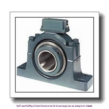 skf SAF 22516 x 2.5/8 T SAF and SAW pillow blocks with bearings on an adapter sleeve