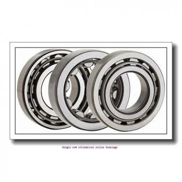 40 mm x 90 mm x 33 mm  NTN NU2308EG1 Single row cylindrical roller bearings