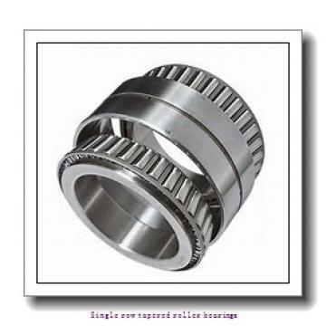140 mm x 195 mm x 27 mm  skf T4CB 140 Single row tapered roller bearings