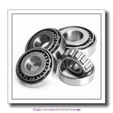 30.162 mm x 68.262 mm x 22.28 mm  skf M 88043/010 Single row tapered roller bearings