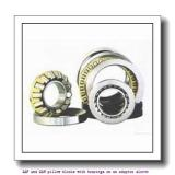 skf FSAF 1516 x 2.3/4 T SAF and SAW pillow blocks with bearings on an adapter sleeve